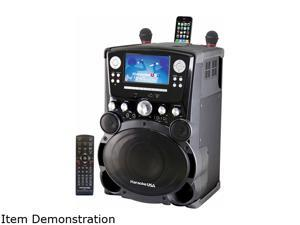 "Karaoke Usa GP975 Professional DVD/CDG/MP3G Karaoke Player with 7"" Color TFT Display and Record Function"