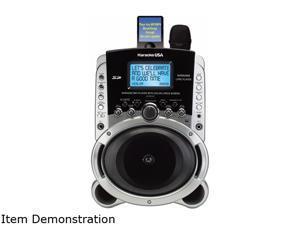 Karaoke Usa SD519 Portable Multi-Format Digital Karaoke Player with Lyric Screen