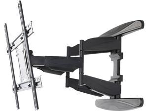 "BYTECC BT-4080TSX 40""-80""Low Profile Full Motion TV wall mount LED & LCD HDTV Up to VESA 600x400 Max Load 110 lbs for Samsung, Vizio, Sony, Panasonic, LG and Toshiba TV"