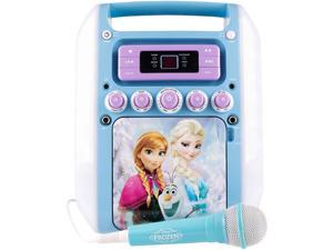 Sakar KO2-07027-WINT Disney Frozen Winter Magic Karaoke