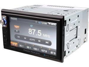 "Power Acoustik PDR-654B 2-DIN Digital Media Receiver with 6.5"" LCD and Built-in Bluetooth"