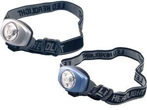 Sentry  LTN-LEDH2  Two Pack of LED Headlamps Silver Blue
