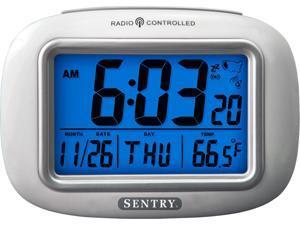 Sentry Big Screen Weather Atomic Clock ATC30