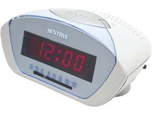 Sentry Digital LED AM FM Clock Radio CR102