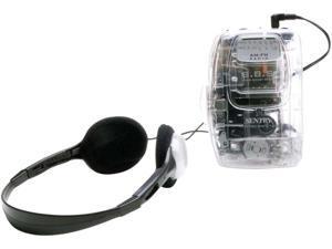 Sentry Transparent AM FM Cassette Player TR792