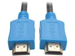 Tripp Lite High-Speed HDMI Cable with Digital Video and Audio, Ultra HD 4K x 2K (M/M), Blue, 10 ft. (P568-010-BL)