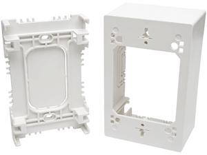 Tripp Lite N080-SMB1-WH Single-Gang Surface-Mount Junction Box