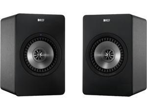 KEF X300AWGM Wireless Digital Hi-Fi Speakers Gun Metal Finish
