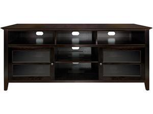 "Bell'O WAVS99163 65"" Dark Espresso Wood Audio Video Cabinet"