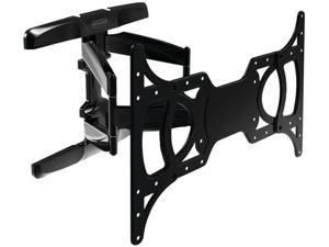"""Stanley Mounts TLX-220FM 37"""" - 65"""" Full Motion Articulating TV Wall Mount LED & LCD HDTV,up to VESA 600x400 Max Load 100 lbs,Compatible with Samsung, Vizio, Sony, Panasonic, LG, and Toshiba TV"""
