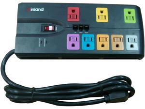 Inland 4INL03405 SurgeGuard 3600J outlet surge protector - 8 -outlet
