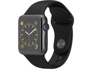 Apple Watch Sport MJ2X2LL 38mm Space Gray Aluminum Case with Black Sport Band