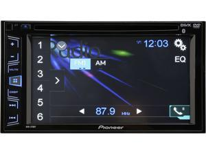 "Pioneer AVH-270BT 6.2"" Touch Screen DVD/CD Double Din Receiver with Bluetooth"