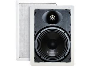 "Steren Essentials Series 730-103 2 CH 6 1/2"" Two-Way In-Wall Speakers (Pr) Pair"