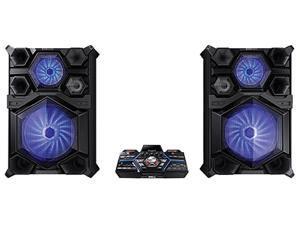 Samsung MX-JS9500 4,000W Giga Sound System with DJ Beat Lighting Effects