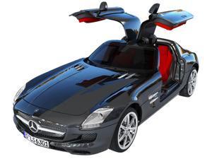 Silverlit 86074 Black Interactive Bluetooth R/C Mercedes-Benz SLS AMG