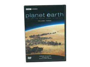 Planet Earth,Vol. 3:Great Plains/Jungles/Shallow Seas(DVD/WS/ENG/FREN/SPAN) David Attenborough