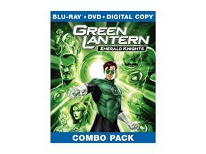 Green Lantern: Emerald Knights (Blu-ray/WS) Nathan Fillion, Jason Isaacs, Elisabeth Moss