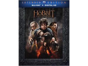 The Hobbit: The Battle of Five Armies Extended Edition (BD) [Blu-ray] Ian McKellen, Martin Freeman, Richard Armitage, Evangeline Lilly, Lee Pace