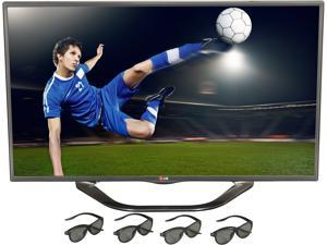 "LG 42"" Class (41.9"" diagonal) 1080p TruMotion 120Hz Cinema 3D Smart TV 42LA6200"