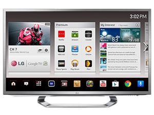 "LG 55"" Class (54.6"" Diag.) 3-D Ready 1080p 120Hz LED-Backlit Cinema 3D Google TV 55G2 (LG recertified Grade A)"