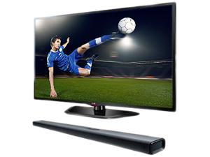 "LG 55"" 1080p TruMotion 120Hz LED-LCD HDTV + Sound Bar 55LN5790"