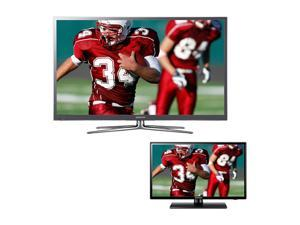 "Samsung 46"" 1080p LED Smart TV and 26"" LED HDTV Bundle UN46ES7500/LEDTV26"
