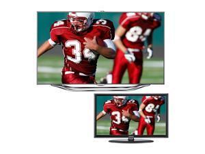 """Samsung 60"""" 1080p Slim LED HDTV with 32"""" LED TV Bundle UN60ES8000/UN32EH400"""