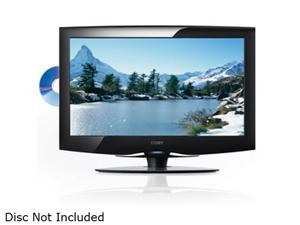 "COBY TFDVD1995 19"" Black 720p LCD HDTV with Built-In DVD Player"