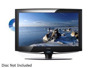 "COBY TFDVD2495 24"" Black 1080p LCD HDTV with Built-In DVD Player"