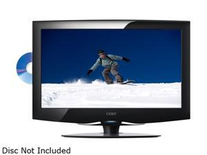 "COBY LEDVD1996 19"" Class (18.5"" Diag.) Black LED-Backlit HDTV with DVD Player"