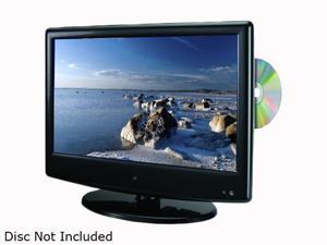 "GPX TDE1380B 13.3"" Black 720p LCD HDTV with Built-In DVD Player"