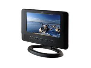 "GPX TD730B 7"" Black TV / DVD Player Combo"