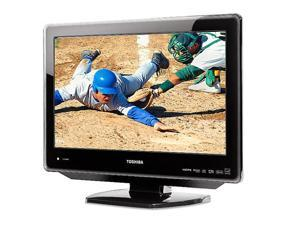 "TOSHIBA  19LV610U  19""  720p LCD HDTV With Built-In DVD Player"