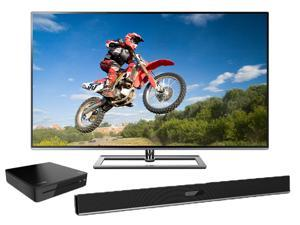 "Toshiba 65"" 4K Ultra HD 240Hz Smart LED TV with 3D Blu-Ray Player and Soundbar – 65L9300UBDX6400KIT"