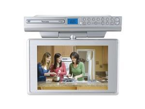 "Venturer KLV39120 12"" Silver Under-Cabinet LCD TV With Built-In DVD Player"