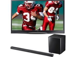 "Samsung 60"" Plasma TV Bundle with Soundbar"