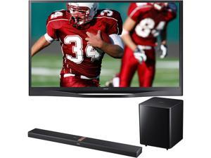 "Samsung 60"" Plasma TV Bundle with Soundbar PN60F8500/HWF750"