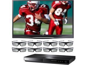 "Samsung 64"" Plasma HDTV Bundle with Blu-ray Disc Player -PN64F8500/BDE5900/8G"