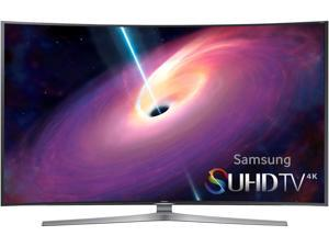 "Samsung UN65JS9000 65"" Class Curved 4K Ultra HD 3D Smart LED TV"