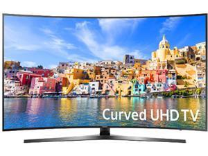 Samsung UN49KU7500FXZA 49-Inch 2160p 4K UHD Smart Curved LED TV - Black (2016)