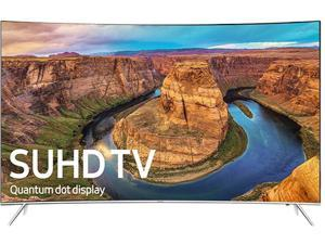 Samsung UN55KS8500FXZA 55-Inch 2160p 4K SUHD Smart Curved LED TV - Silver (2016)