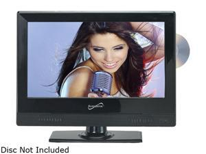 "SUPERSONIC SC-1312 13.3"" Black LED HDTV with Built-in DVD Player"