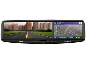 Pyle PLCMDVR7G HD Smart Rearview Backup Camera & Mirror Monitor System with GPS Navigation
