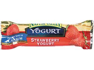General Mills SN13158 Nature Valley Granola Bars, Chewy Strawberry Yogurt, 1.2oz Bar, 16 Bars/Box