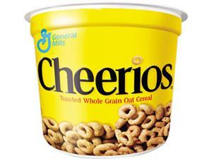 General Mills SN13896 Cheerios Breakfast Cereal, Single-Serve 1.3oz Cup, 6 Cups/Pack