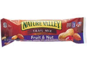 General Mills SN1512 Nature Valley Granola Bars, Chewy Trail Mix Cereal, 1.2oz Bar, 16 Bars/Box