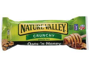 General Mills SN3353 Nature Valley Granola Bars, Oats'n Honey Cereal, 1.5oz Bar, 18 Bars/Box