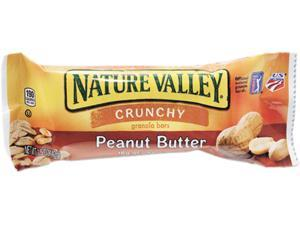 General Mills SN3355 Nature Valley Granola Bars, Peanut Butter Cereal, 1.5oz Bar, 18 Bars/Box