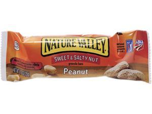 General Mills SN42067 Nature Valley Granola Bars, Sweet & Salty Nut Peanut Cereal, 1.2oz Bar, 16/Box